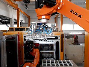 Best robots KUKA for palletizing