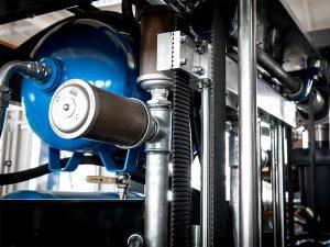 Compressor for PET blowing machine bottles