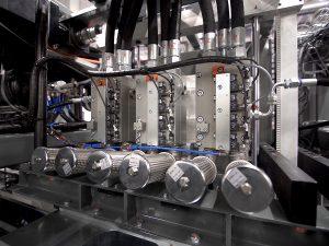 Blow moulding valves for PET Technology
