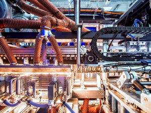 BlueLine Hitech 8 cavities inside machine blow molding machine how it works Poland