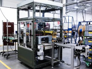 Bottles packaging system for PET bottles machine CNC