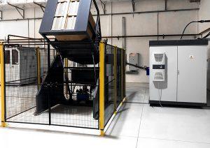 Cardboard elevator TES PET preform hopper