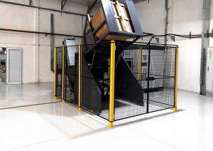 Cardboard elevator TES PET preform lifter