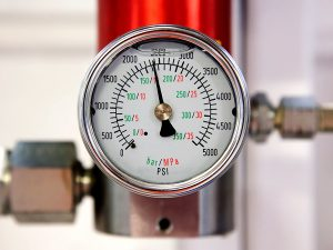 Gas flowmeters indicator