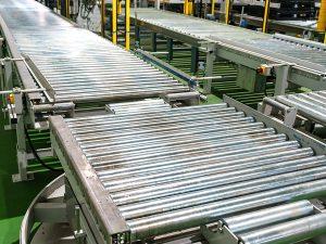 Roller Conveyor for filling line
